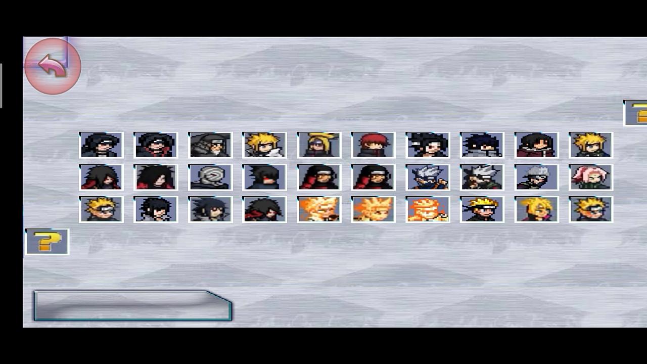 Bleach Vs Naruto Mugen Apk Beta Version