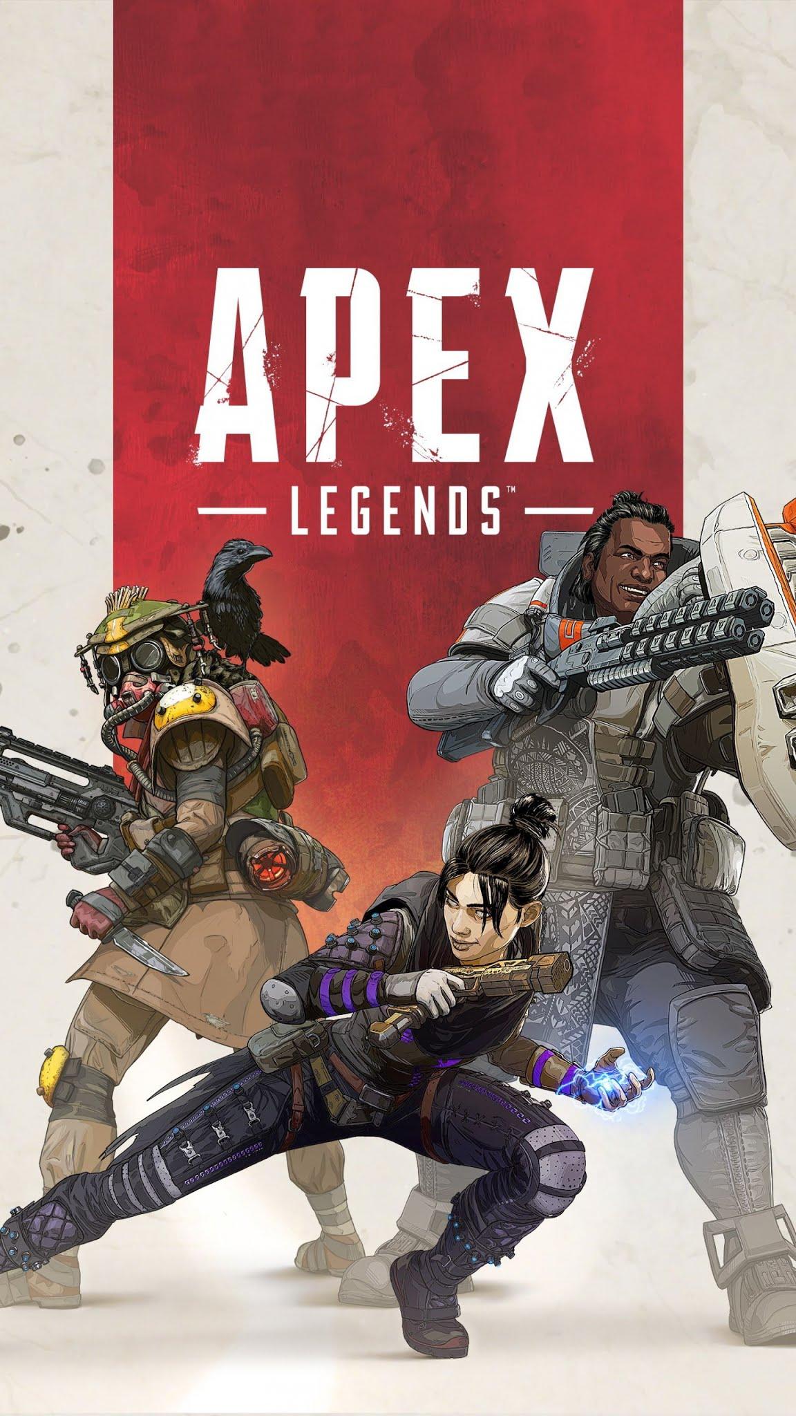 Apex Legends video games Mobile Wallpaper