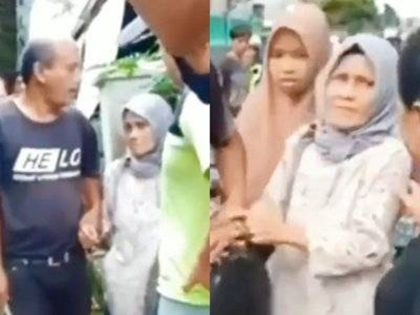 Kasihan! Nenek Nenek ini Dipukul Warga Gara gara Ketahuan Mencuri Makanan