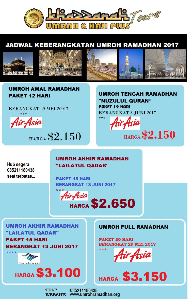 Paket Hajj Plus 2016 Khazzanah Tour