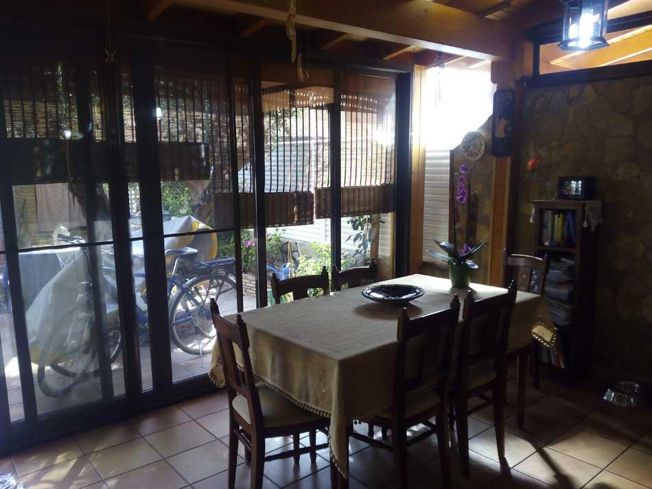 chalet adosado en venta avenida mohino benicasim terraza