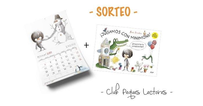 calendario 2020 + libro actividades Minimoni Rocio Bonilla