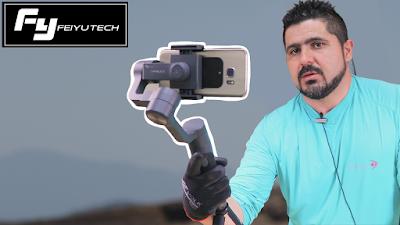 Feiyu Tech Vimble 2 - FILMAGEM de CELULAR com ESTABILIZADOR automático - BANGGOOD