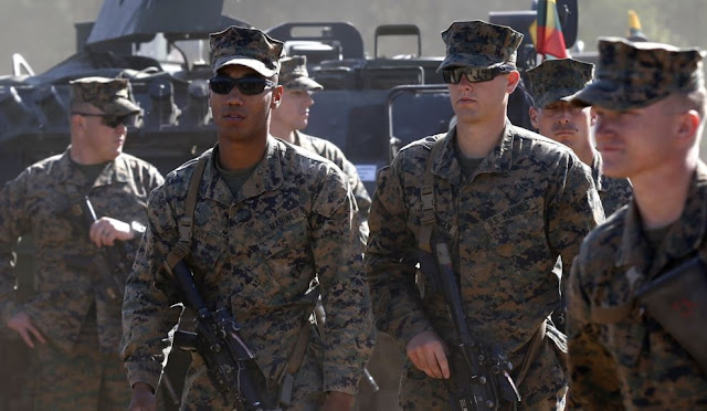The US will send 20,000 military troops to Europe