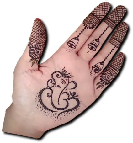Ganpati Special Mehndi for Children