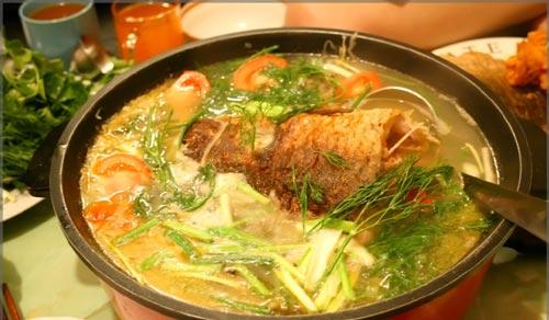 Cách nấu canh chua cá chép ngon ngất ngây