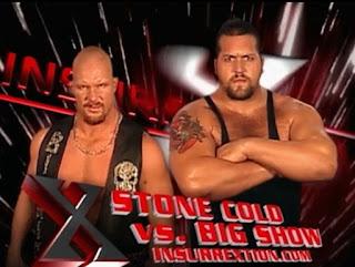 WWF Insurrexion 2002 - Stone Cold Steve Austin vs. Big Show