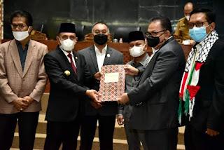 DPRD Sumut Setujui Ranperda Perseroda PPSU, Gubernur Minta BUMD Cegah Monopoli Pasar