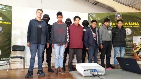 Pandillas en La Paz
