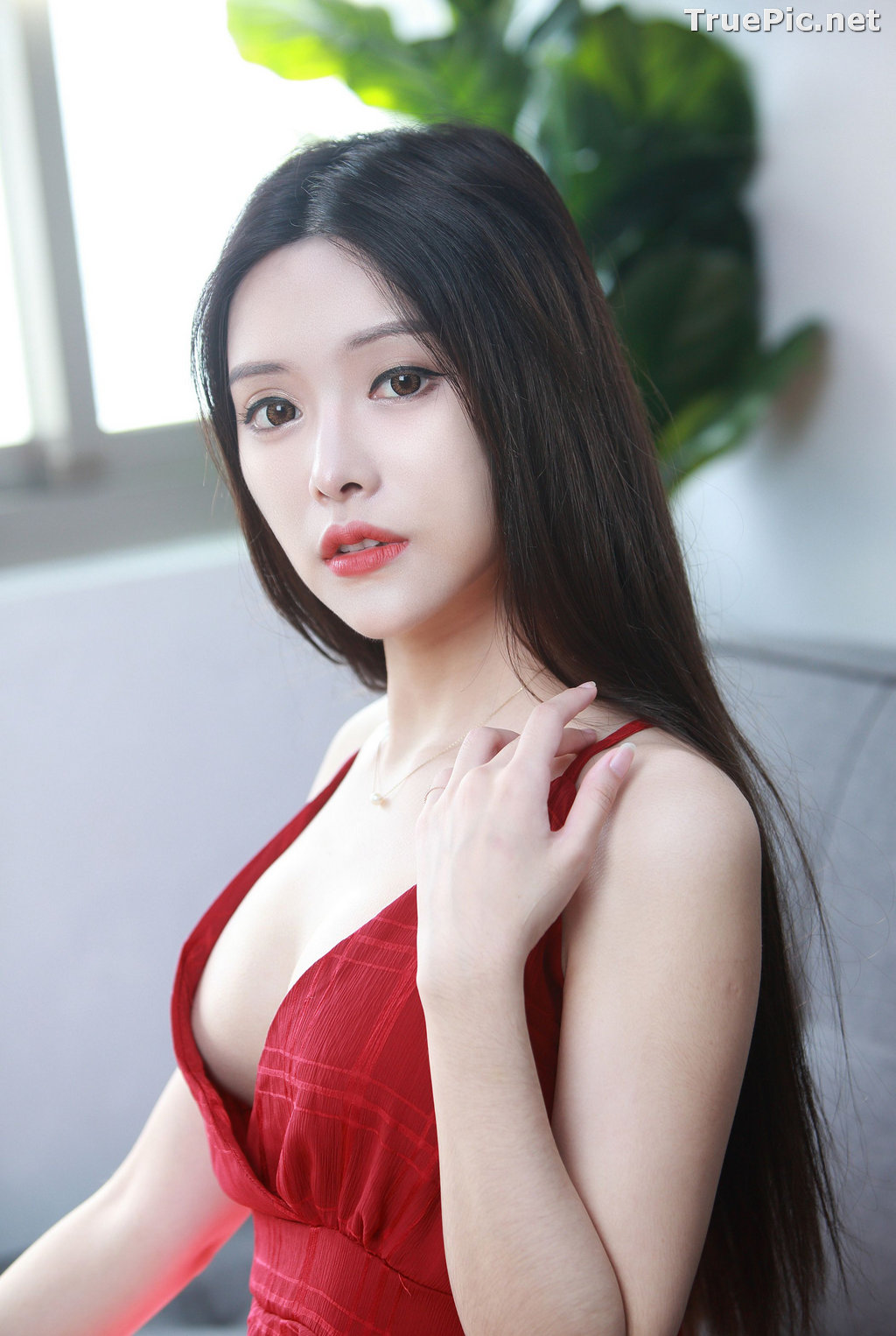 Image Taiwanese Model – 莊舒潔 (ViVi) – Sexy and Beautiful Christmas Girl - TruePic.net - Picture-5