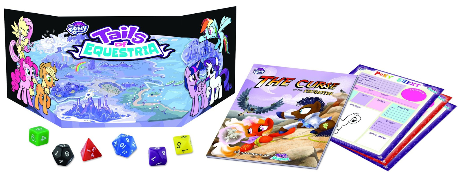 Tails of Equestri Spielmaterial