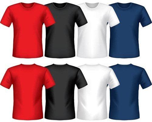 Pacote de Camisas vetorizadas Corel Draw editável Download Grátis
