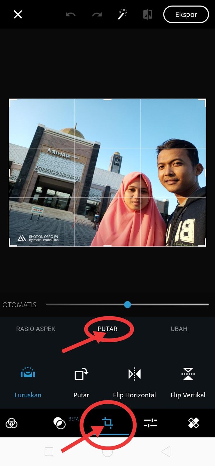 Cara Membalikkan Foto Selfie yang Terbalik di Android