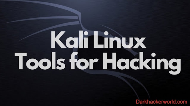 Kali Linux tools for hacking