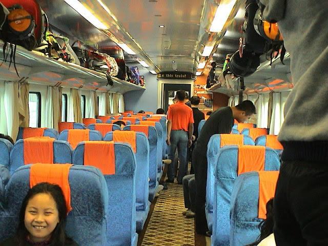 青藏鐵路火車硬座
