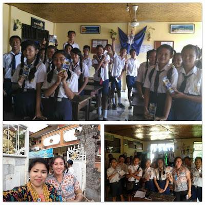 Kunjungan SMK TI Bali Global Denpasar ke SMP Blahbatu Kab. Gianyar