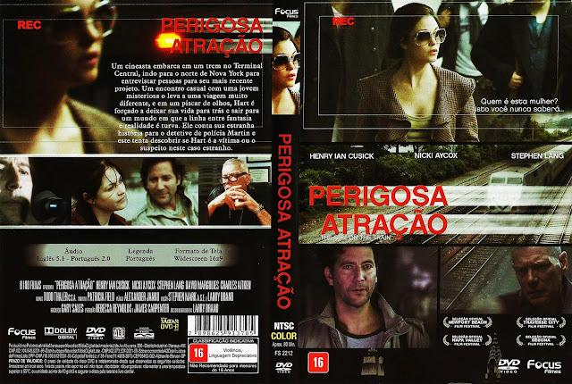 Capa DVD Perigosa Atração