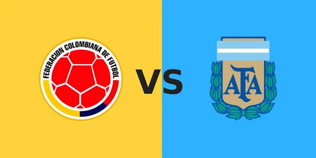 كولومبيا تفوز على الارجنتين 2-0 خلال المباراة التي أقيمت اليوم الأحد 16-06-2019 في كوبا أمريكا 2019 الارجنتين تخسر كوبا امريكا