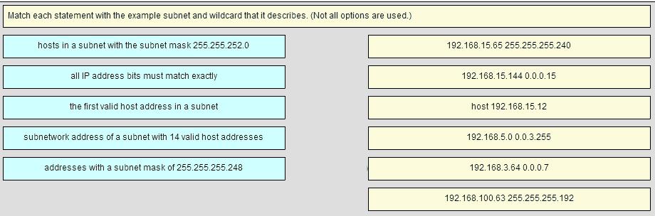 CCNA 2 v6.0 RSE Chapter 7 Exam q25