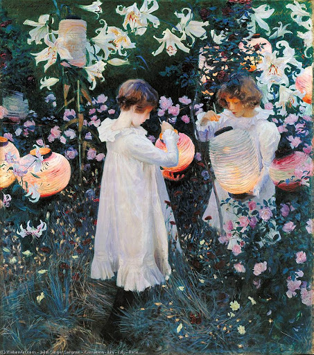 Carnation, Lily, Lily, Rose by John Singer Sargent (1885)