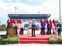 Presiden Jokowi Resmikan Ruas Tol Sigli-Banda Aceh Seksi 4