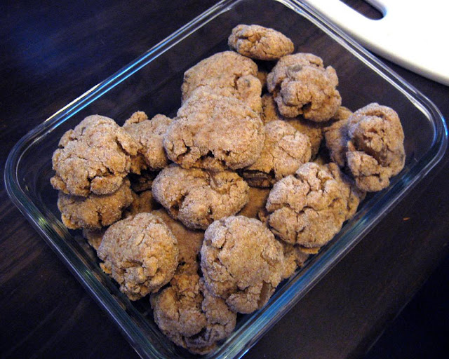 Vegan Ginger Cookies by freshfromthe.com