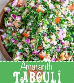 Tabouli Recipe with Amaranth