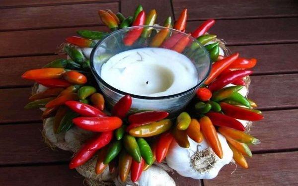 vegetable arrangements ideas