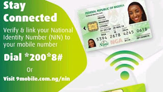 How To Link NIMC To Your phone number on 9mobile network