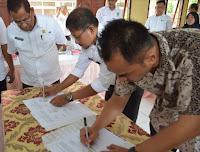 Bismillah, Pemkab Bima Teken Kontrak Pembangunan Masjid Agung Senilai Rp78 Milyar