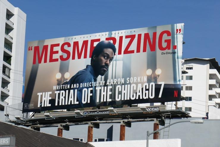 Trial of Chicago Mesmerizing FYC billboard