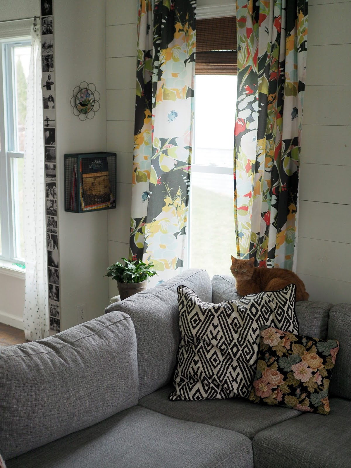fox hollow cottage tour room com curtains christmas home housewalk living holiday foxhollowcottage for