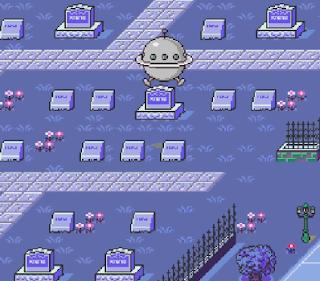 Earthbound - Cementerio Threed
