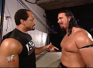 WWE / WWF Backlash 2002 - Farooq & Bradshaw reunited after being split by the draft