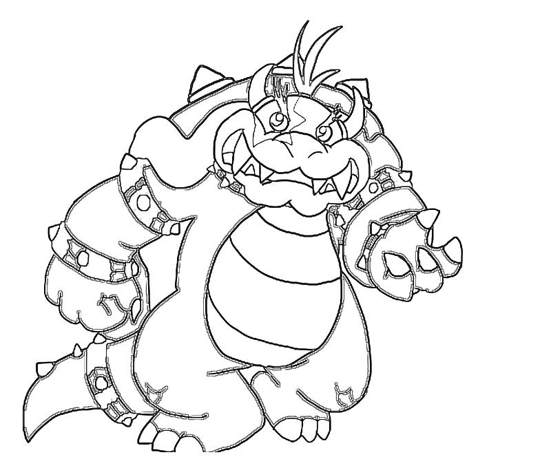 super mario ludwig coloring pages - photo#9