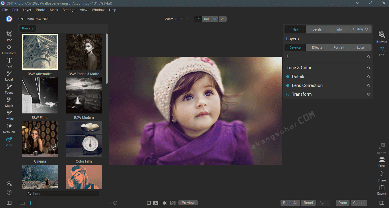 Gratis Download ON1 Photo RAW 2020 Full Crack Terbaru