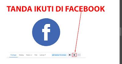 menampilkan tombol follow di facebook