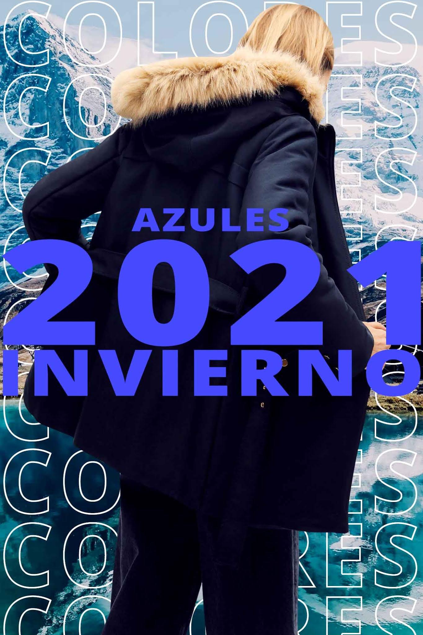 Colores invierno 2021 │Azul