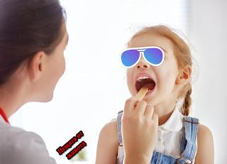 Лечение у дома на ангина при деца
