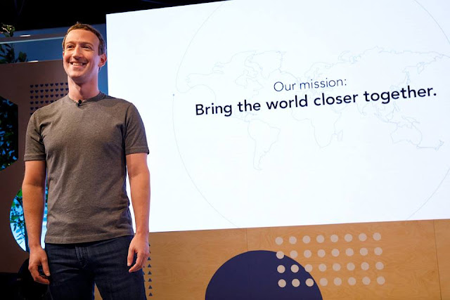 Facebook's mission is to Bring the World closer together - Mark Zuckerberg