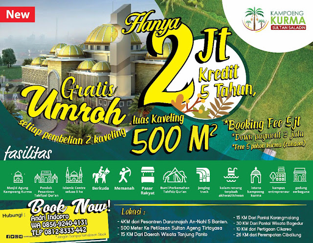 Investasi Tanah Kavling 2017, Tanah Kavling Murah, Tanah Kavling Syariah, Kavling Kampung Kurma Penipuan