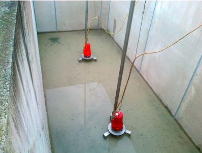 Accesorios de mezclado en tanques de igualación