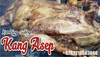 catering kambing guling di maribaya glamping tent lembang
