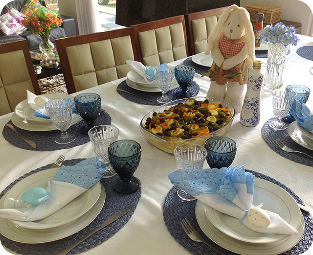 Almoço de Páscoa em Família