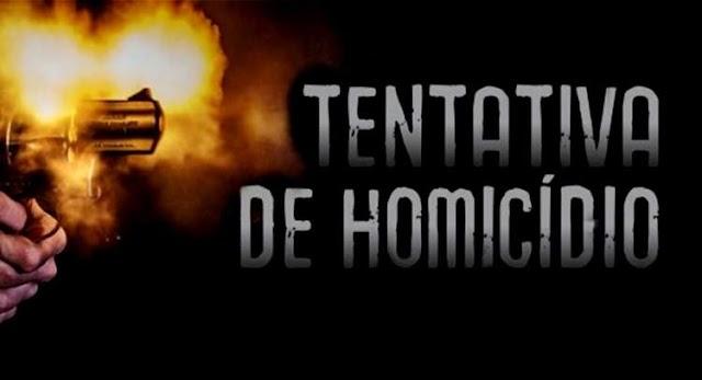Tentativa de homicídio na madrugada de segunda, 14 de Setembro, em Senador Sá
