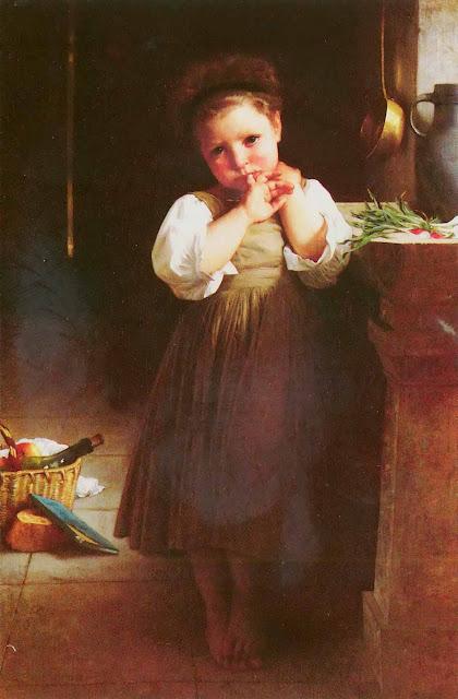 Адольф Вильям Бугро - Скверная ученица (1871)