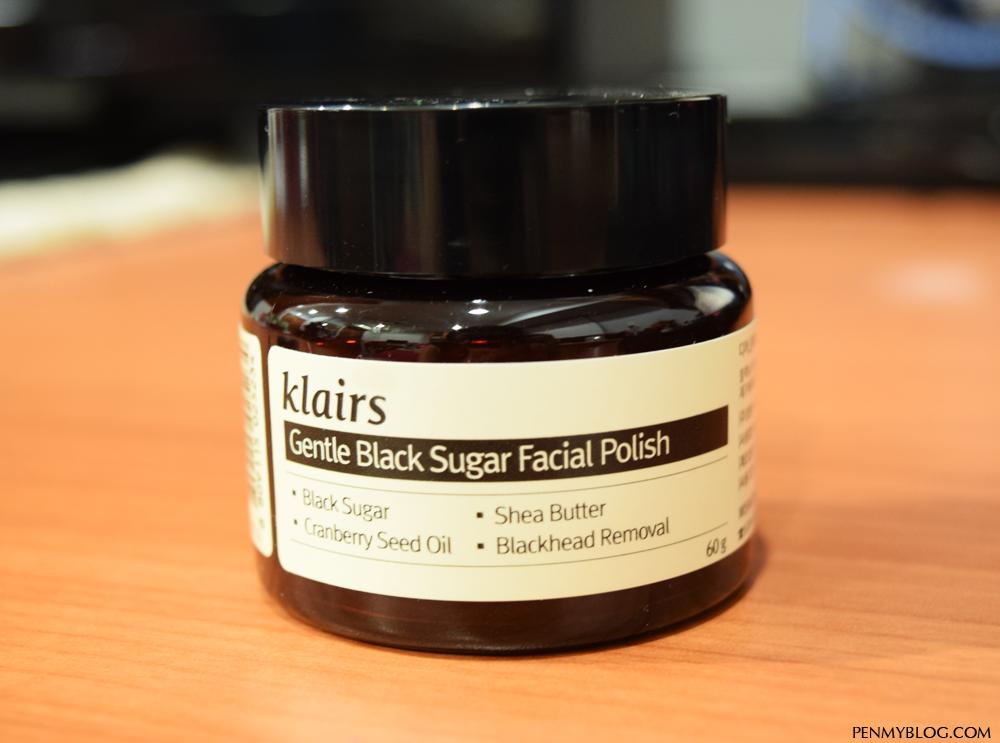 Gentle Black Sugar Facial Polish by Klairs #9