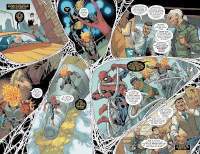 Reseña de 100% Marvel HC. Motorista Fantasma Cósmico: Destruye la Historia de Marvel, de Paul Scheer y Nick Giovannetti.