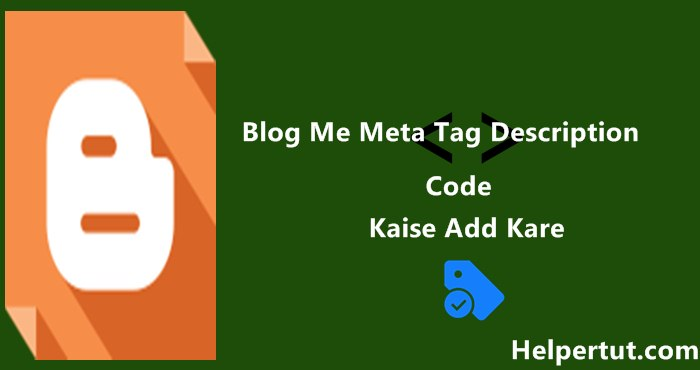 how-to-add-meta-tag-description-code-in-blogger-blog