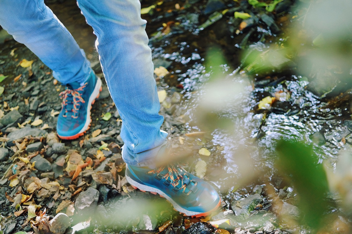 Adventure Capsule Collection | Die limitierte Sneaker Kollektion von Columbia | Flow Borough Low Alpine im Closer Look